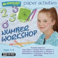 Paper Activities Numbers Workshop cd-rom version