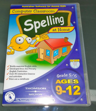 Computer Classroom Spelling at Home v1 ages 9-12