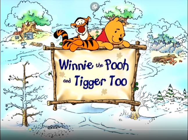 Winnie the Pooh and Tigger Too Animated Storybook