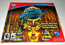 Hidden object games for PC - Amazing Adventures Lost Tomb cd-rom