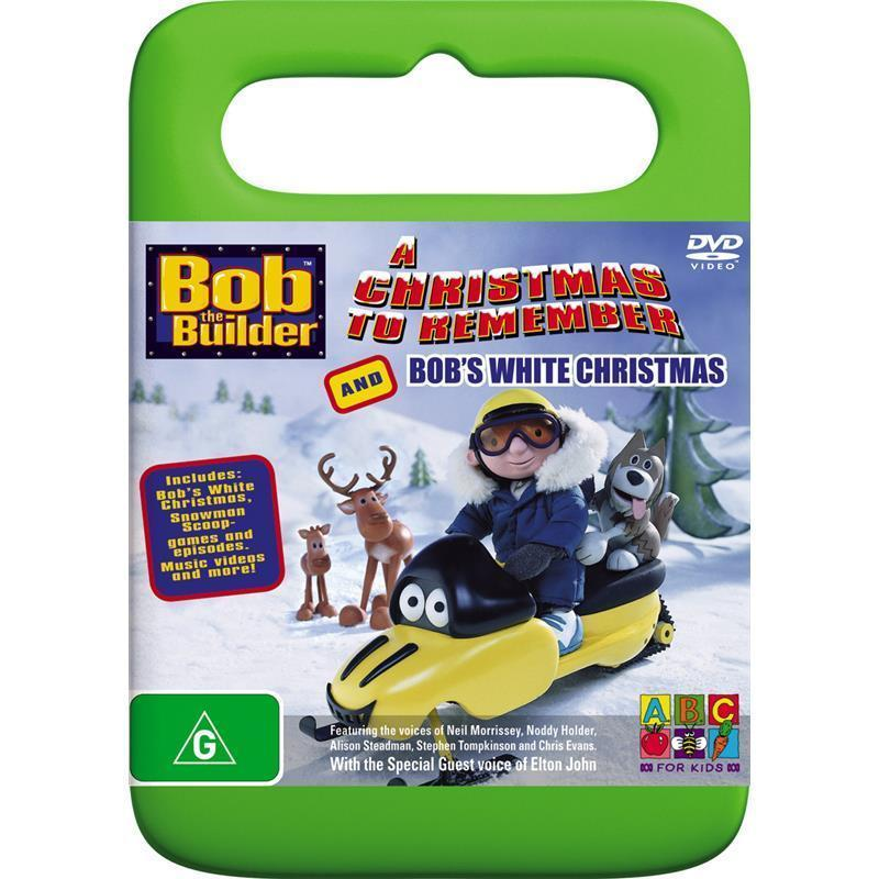 Bob the Builder A Christmas to Remember and Bob's White Christmas DVD