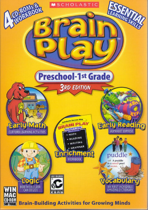 Brain Play Preschool to 1st Grade 3rd edition