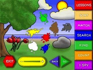Dally Dinosaur educational game for preschoolers to learn about animals