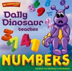 Dally Dinosaur educational game for toddlers and preschoolers.