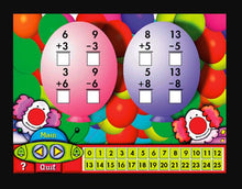 Educational maths game for kids Learn addition Learn subtraction