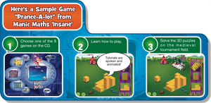 Manic Maths Bundle ages 5 to 12