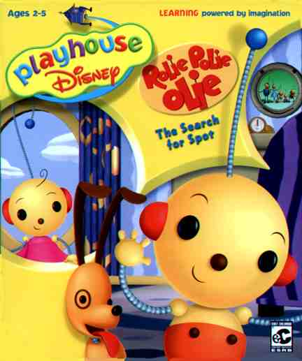 Playhouse Disney Rolie Polie Olie : The Search for Spot