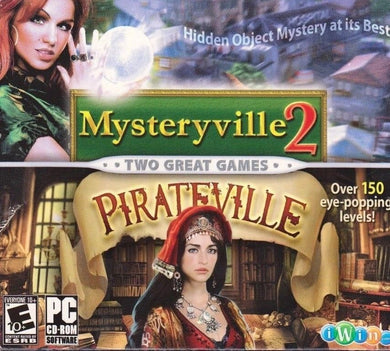 Mysteryville 2 & Pirateville Twin Pack