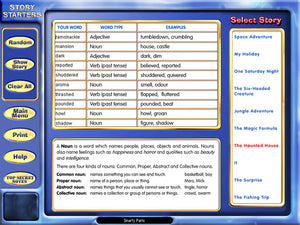 Eureka Creative Story Writer screenshot