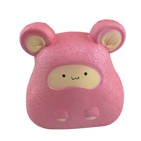 Kawaii pink mouse squishy