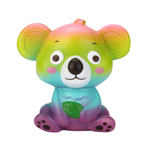 Rainbow koala squishy