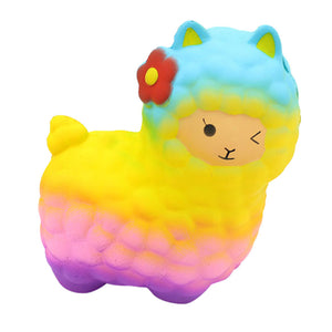 Cute rainbow sheep