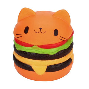 Cat Hamburger Squishy