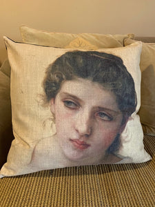 Cushion - Classical Woman 2