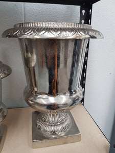 Large Silver Flower Vase - Tilly and Tiffen