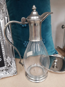 Pewter and Glass Decanter - Tilly and Tiffen