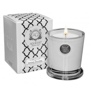 Aquiesse Large Soy Candle - Fennel Fougere - Tilly and Tiffen