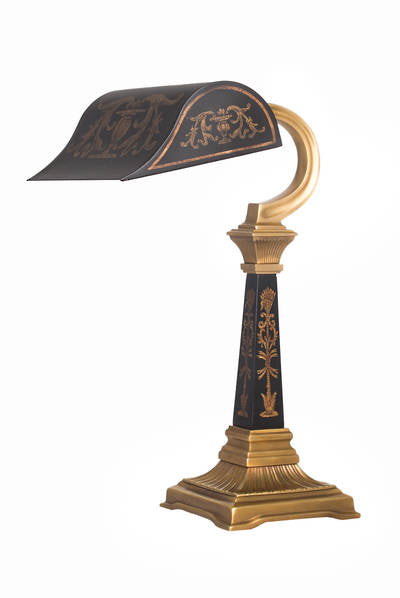Bastille Bankers Desk Lamp - Tilly and Tiffen