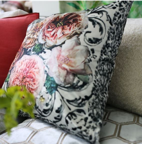 Designers Guild Cushion - Pahari Damask