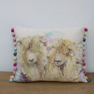 Lincoln Sheep Cushion - Tilly and Tiffen