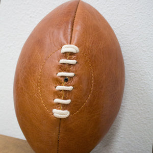 Leather Rugby Ball - Tilly and Tiffen