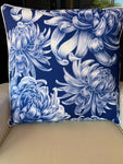 Outdoor Cushion - Hamptons Navy Large