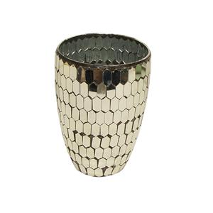 Mosaic Gold Votive Large - Tilly and Tiffen