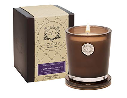 Aquiesse Large Soy Candle - Persimmon Figue Vetiver - Tilly and Tiffen