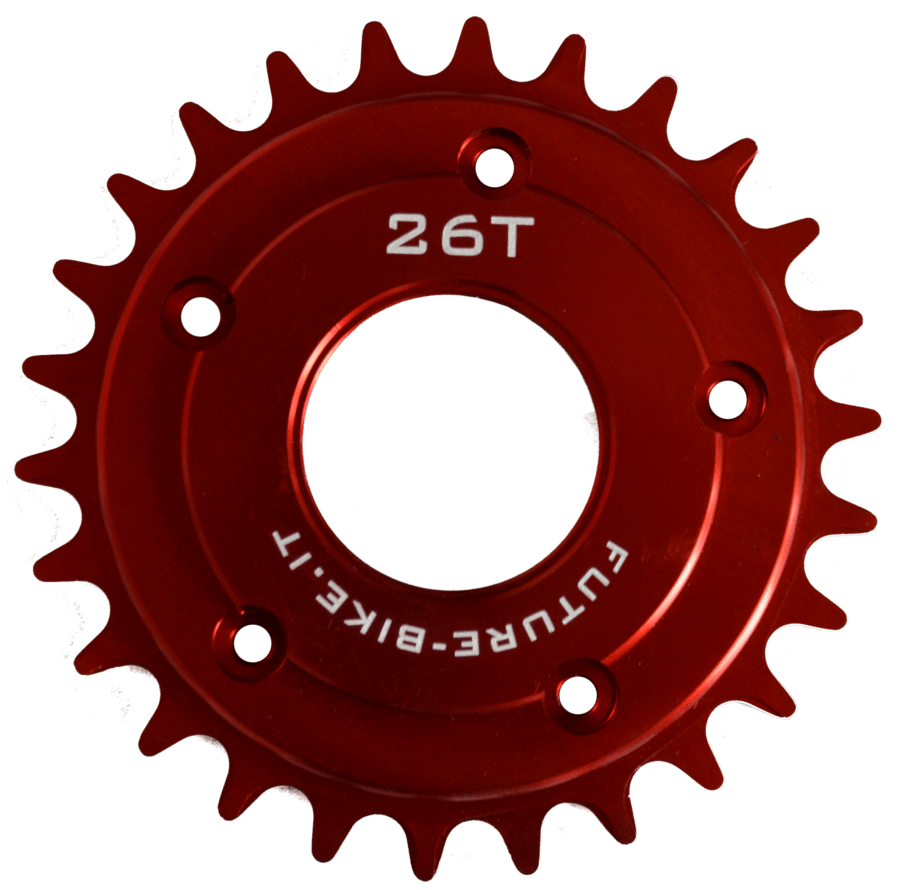 26T Chain Ring for TSDZ2 - Narrow Wide - Offset