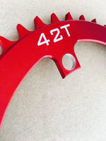 42T Chainring for TSDZ2 - Narrow Wide - 10mm Offset - 110 BCD (Future-bike)