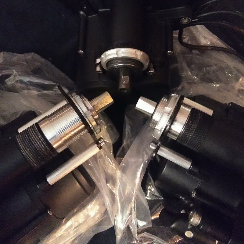 TSDZ2 UPGRADE - Bottom Bracket / Axle - Extension / Installation in 92mm / 100mm / 120mm