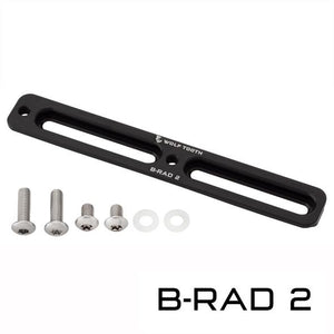 B-RAD Mounting Base (Reposition Your Bottle Cage Mounts For Ideal Battery Base Placement)