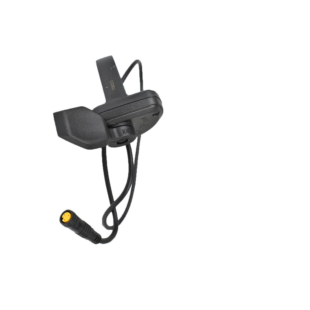 Horizontal Thumb Throttle - Left Side - Yellow 3 pin
