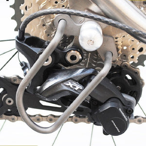 Titanium Derailleur Guards