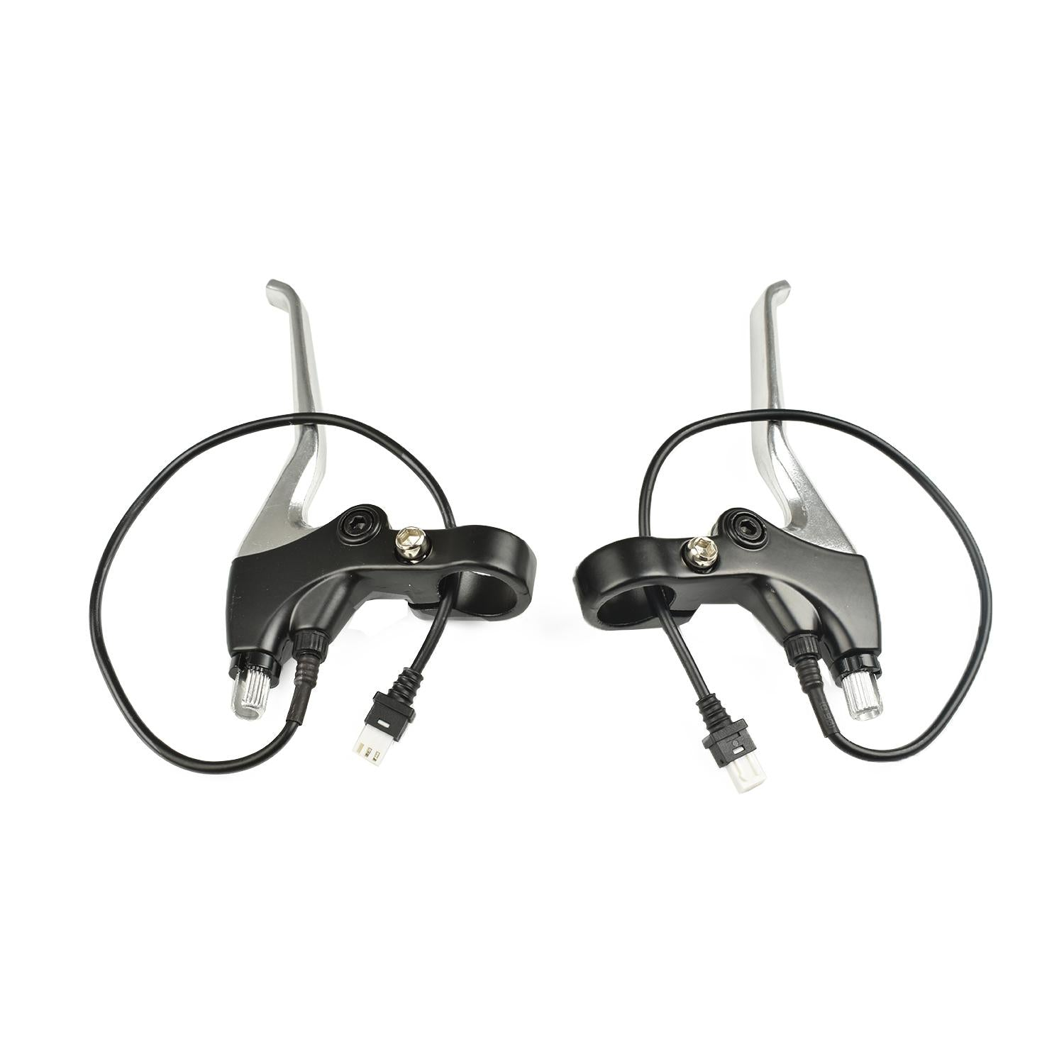 Stock Brake Levers w/ E-brake Sensor for TSDZ2 (VLCD-5 Display Only) w/ Black - OR - Silver Lever