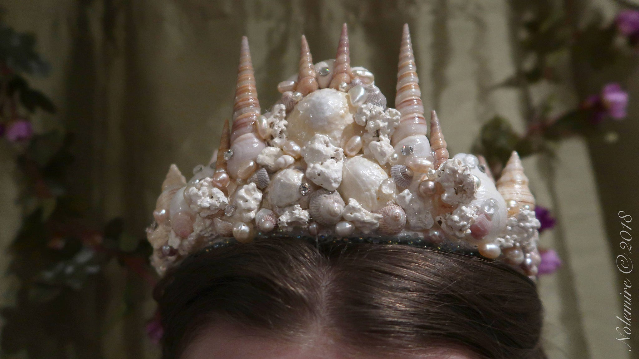 Seashell Mermaid Crown