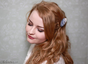 Simple Yet Beautiful Seashell Hair Barrette