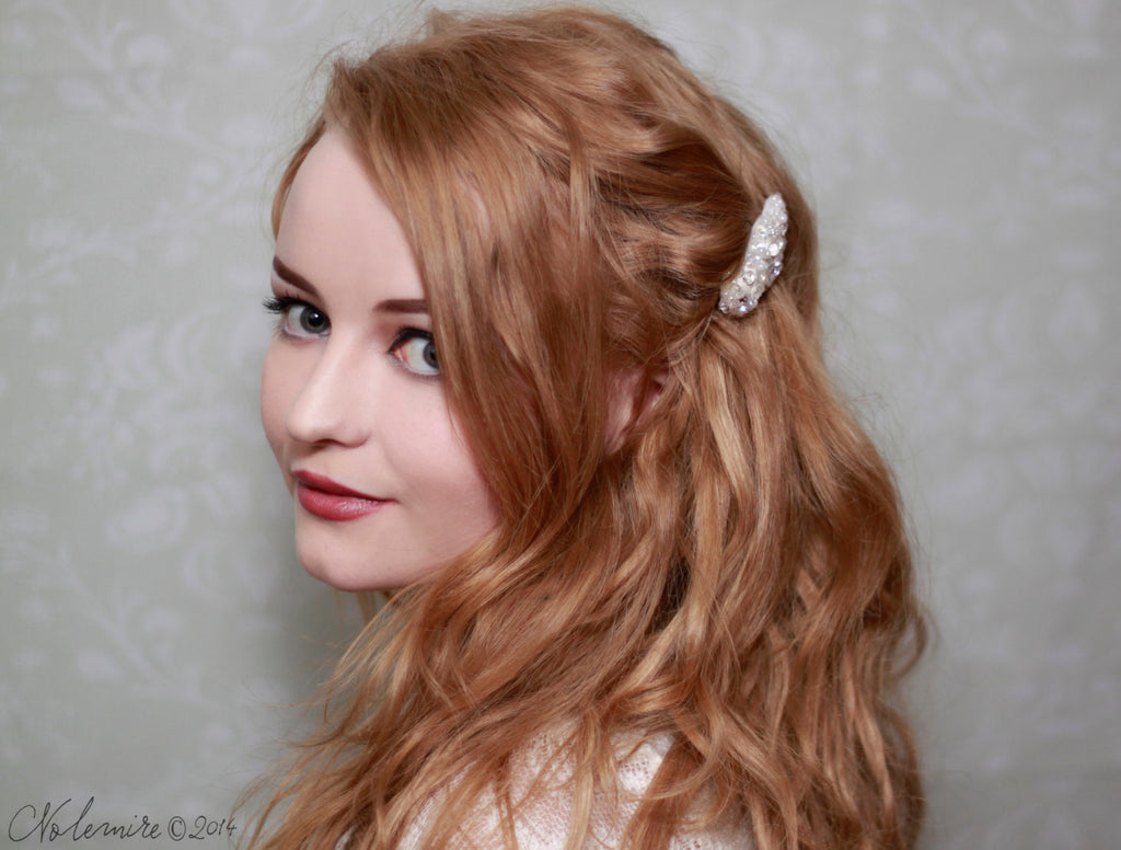 Angels Hair clip with Sea Shells from Norway