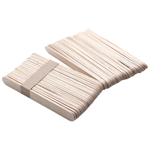 Wooden Applicator Spatulas [20 set]