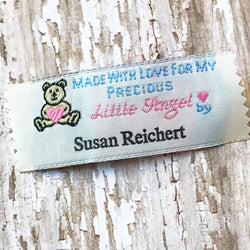 Personalized Woven Labels Baby