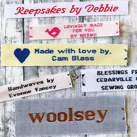 Cotton Woven Labels