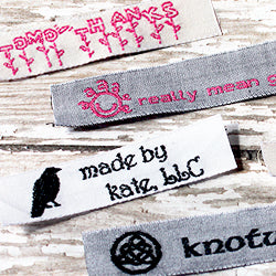 Woven Labels Upload Your Logo