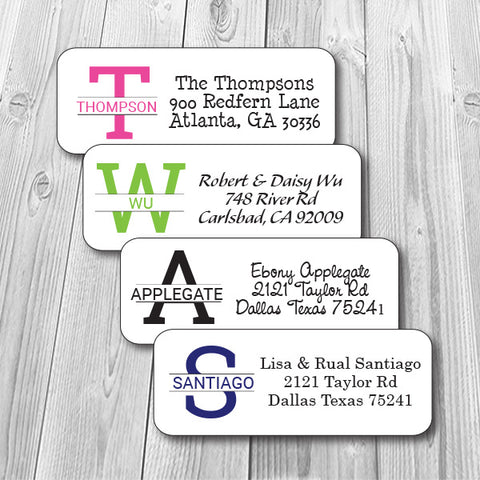 Personalized Address Stickers