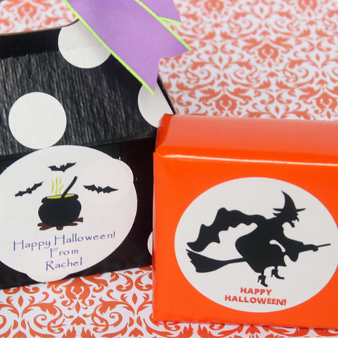 Halloween Personalized Gift Stickers