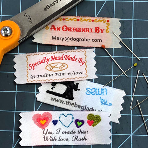Woven Sewing Label Designs Select The Imprint