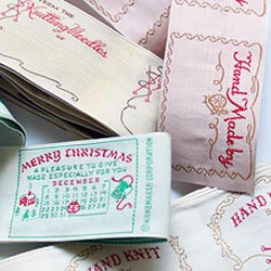 Vintage Sewing Labels