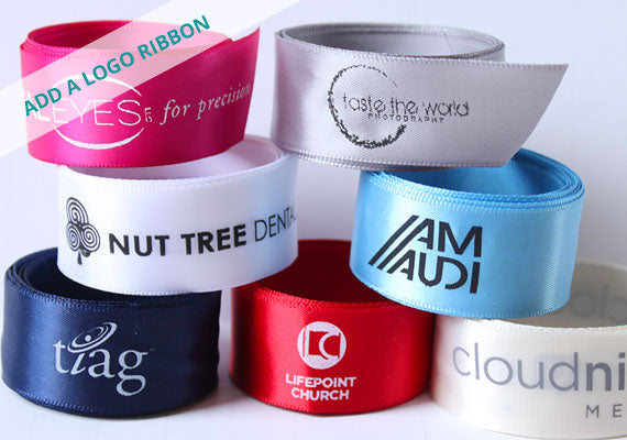 Brand your business with Beautiful Personalized Ribbon