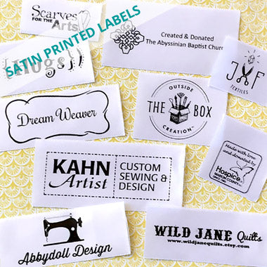Clothing Labels Personalized Ribbons And Custom Stickers Name