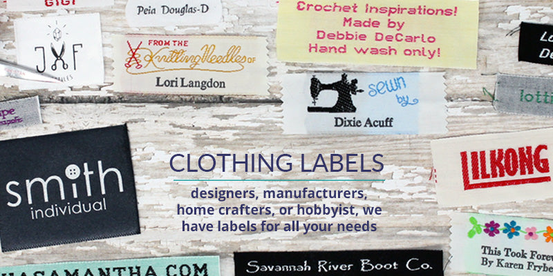 Personalized Clothing Labels