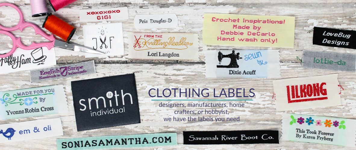 Clothing Labels, Personalized Ribbons & Waterproof Labels - Name